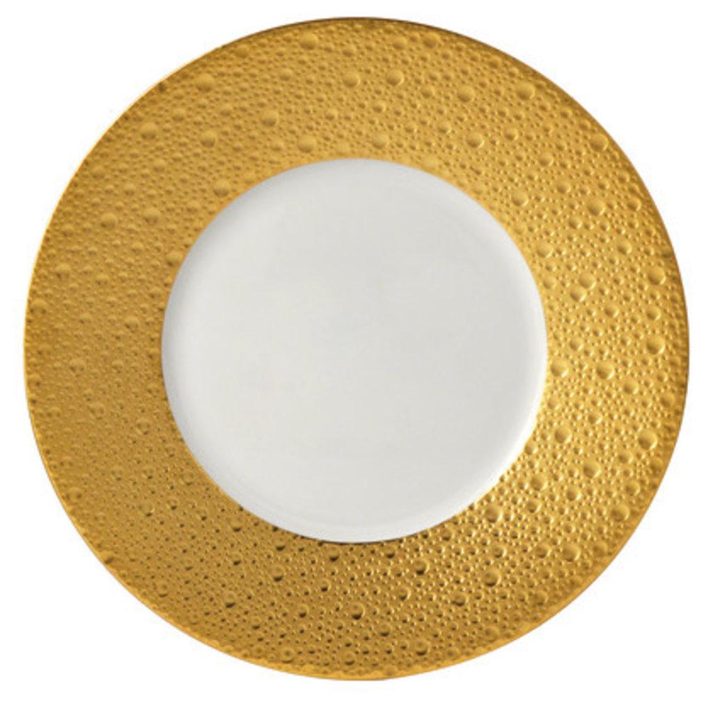 BERNARDAUD Ecume Gold Dinnerware Collection