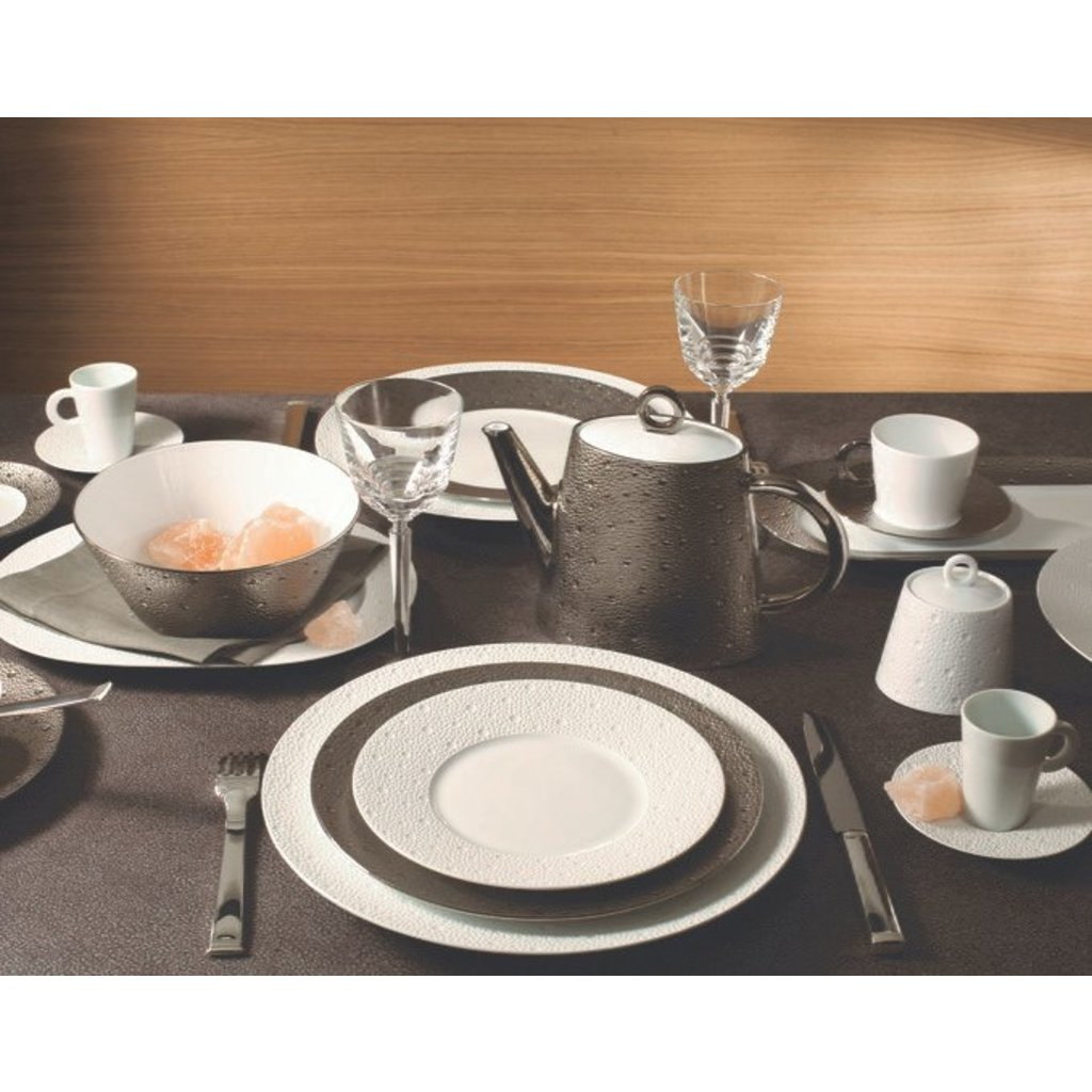BERNARDAUD Ecume Platinum Dinnerware Collection