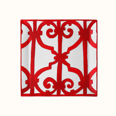 HERMES Balcon du Guadalquivir Square Plate Collection