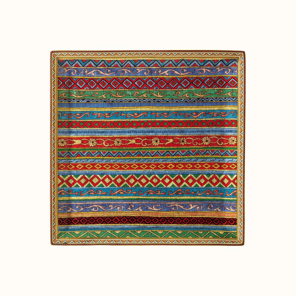 HERMES Cheval d'Orient Square Plates
