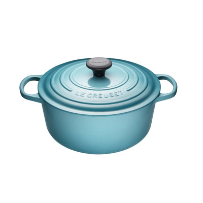 LE CREUSET Caribbean 5.3L Round French Oven 26cm