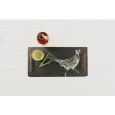 Engraved Pheasant Serving Board Large