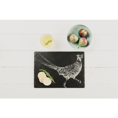 Engraved Pheasant Cheese Board