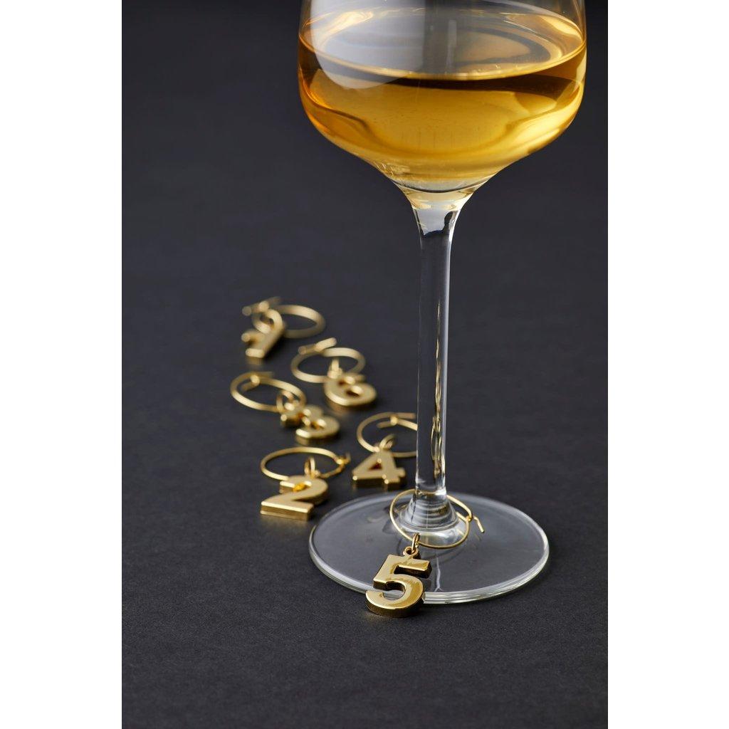 Fine Foods Raymond Wine Charms Set/6
