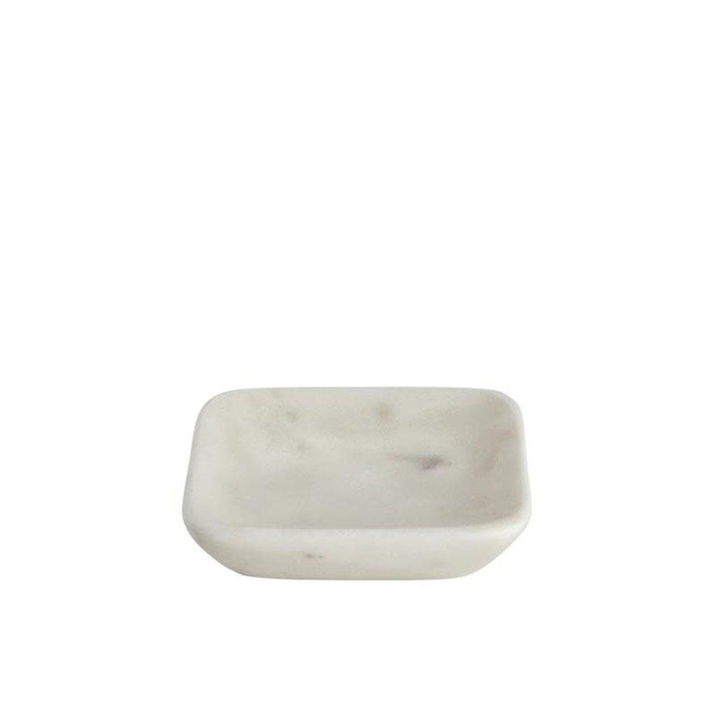 BELLE DE PROVENCE Small Square Marble Soap Dish