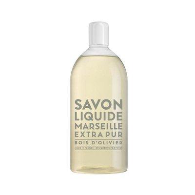 COMPAGNIE DE PROVENCE Savon Liquide Recharge Bois d'Olivier 1000 ml
