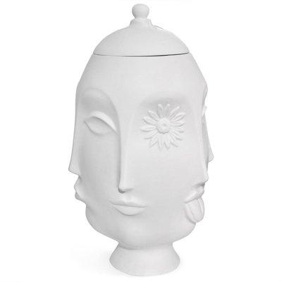 JONATHAN ADLER Muse Vase Frida Blanc