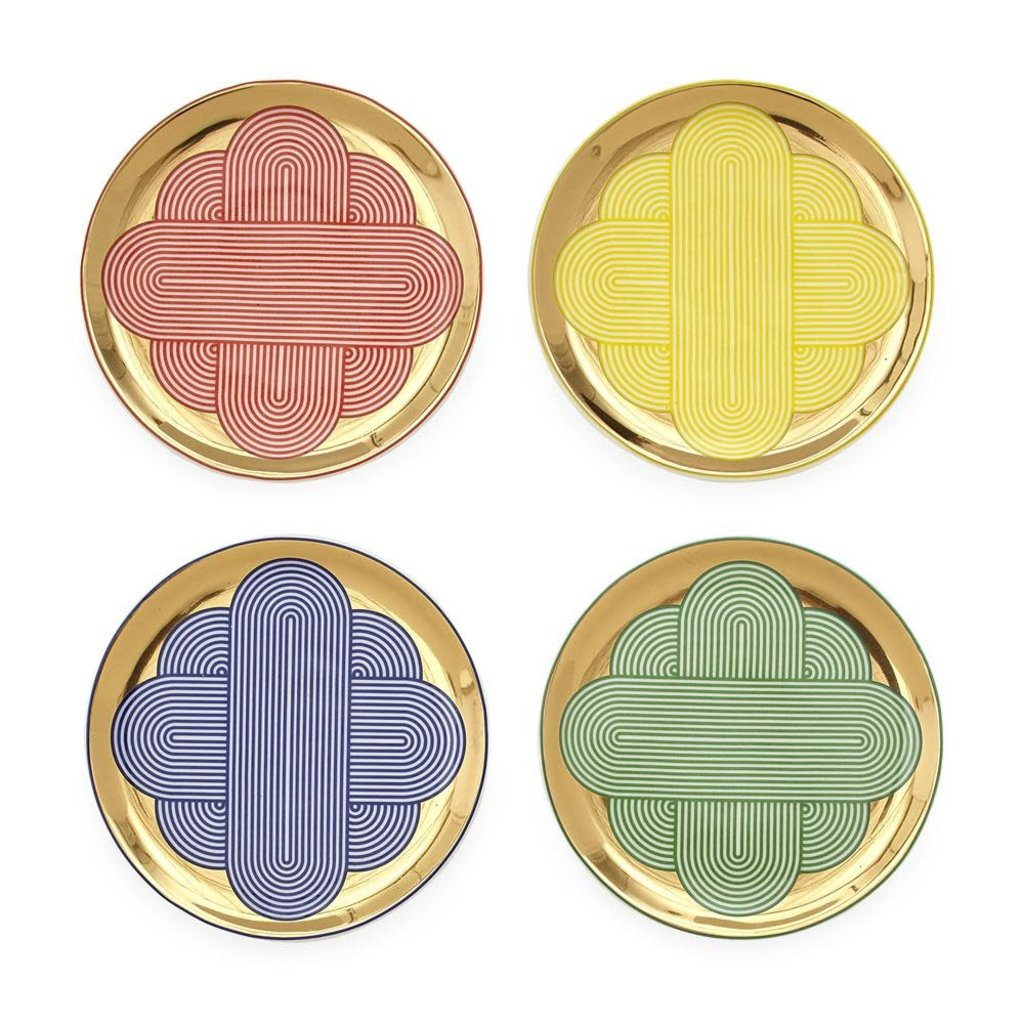 JONATHAN ADLER Pompidou Coasters