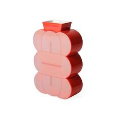 JONATHAN ADLER Medium Pompidou Vase Red