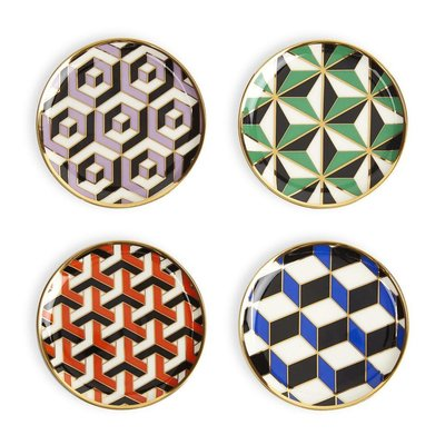 JONATHAN ADLER Versaille Coasters Set of 4