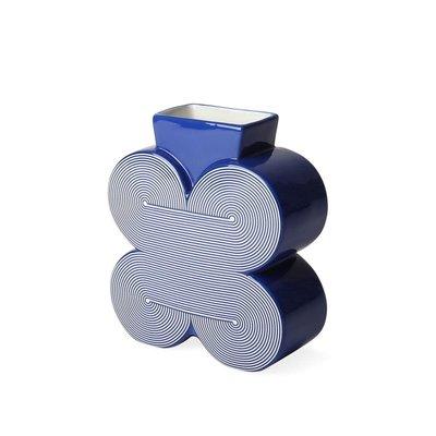 JONATHAN ADLER Small Pompidou Vase Blue