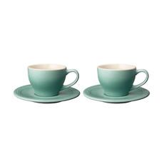 LE CREUSET Classic 0.2L Cappuccino Cup & Saucer Set