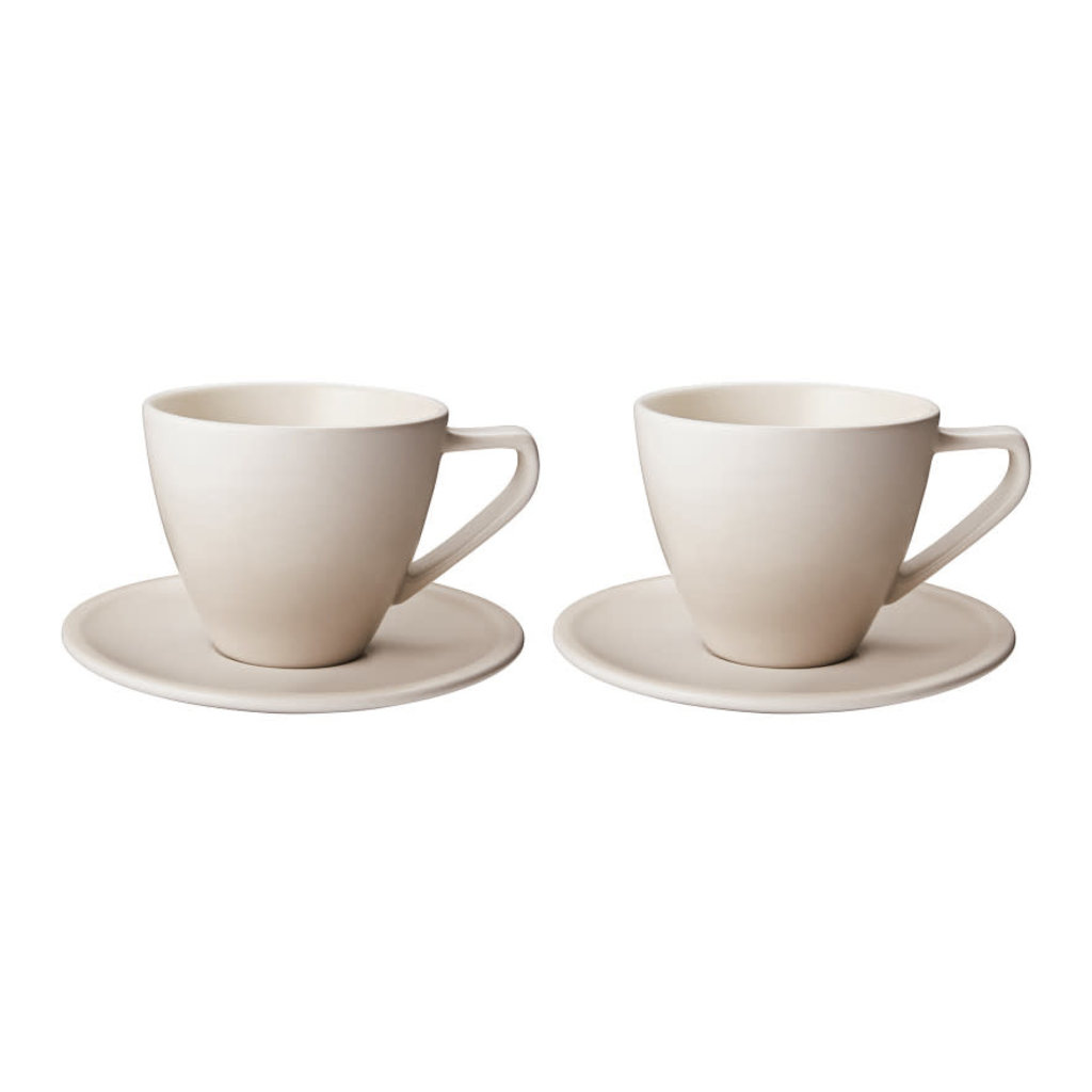 LE CREUSET Minimalist Cappuccino Cup and Saucer Set
