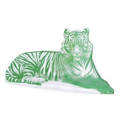 JONATHAN ADLER Green Acrylic Tiger