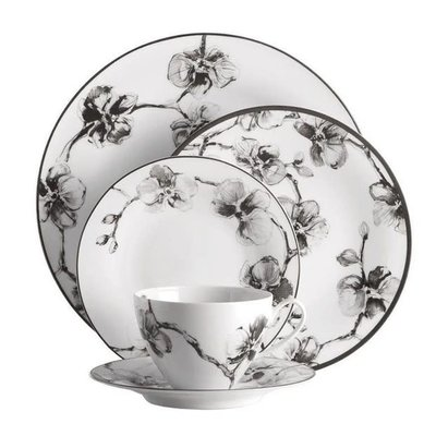 MICHAEL ARAM Black Orchid 5 Piece Place Setting