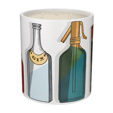 FORNASETTI FRAGRANCE Cocktail Bougie Parfumée Moyenne 900G