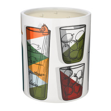 FORNASETTI FRAGRANCE Cocktail Medium Scented Candle 900G
