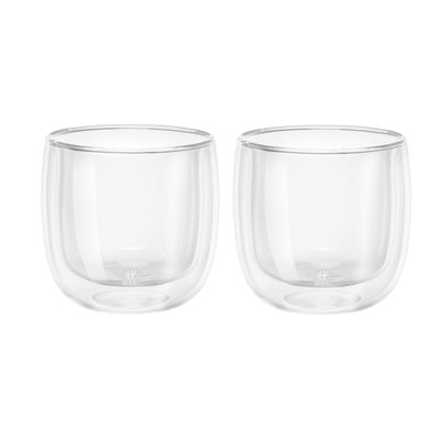 ZWILLING Sorrento Double Wall Tea Glass 2 Piece 240 Ml