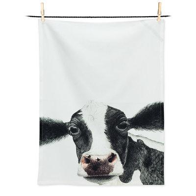 ABBOTT Rosa Cow Tea Towel