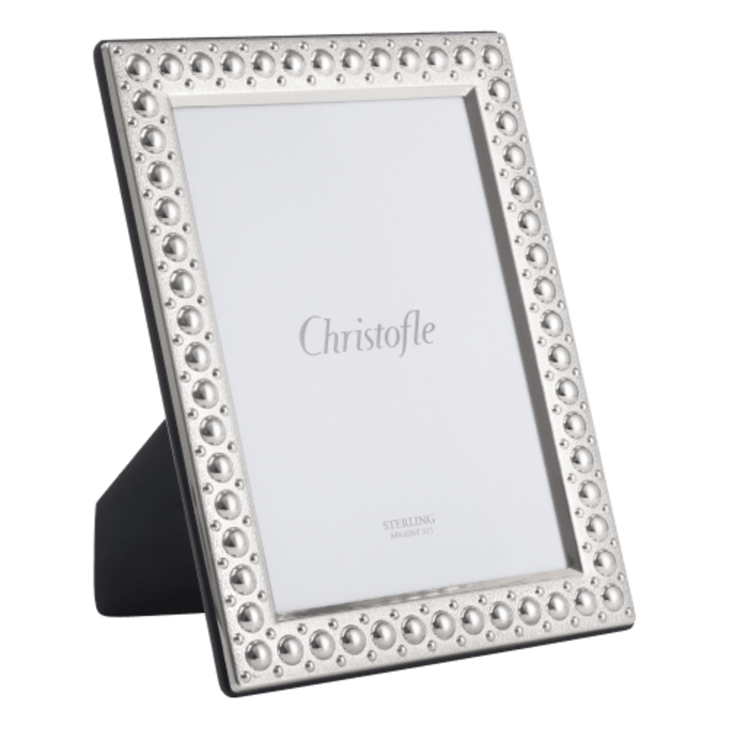 CHRISTOFLE Picture Frame 10X15 Perles