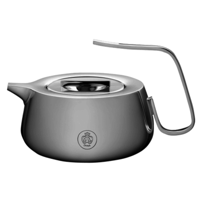 CHRISTOFLE Tea Pot Silver Time