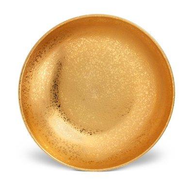 LOBJET Alchimie Coupe Bowl Large Gold 40 Cm