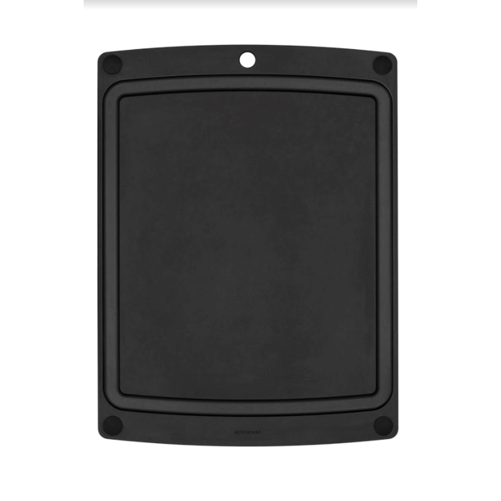 "EPICUREAN All-in-One Boards Slate/Black feet 19.5"" × 14.5"""
