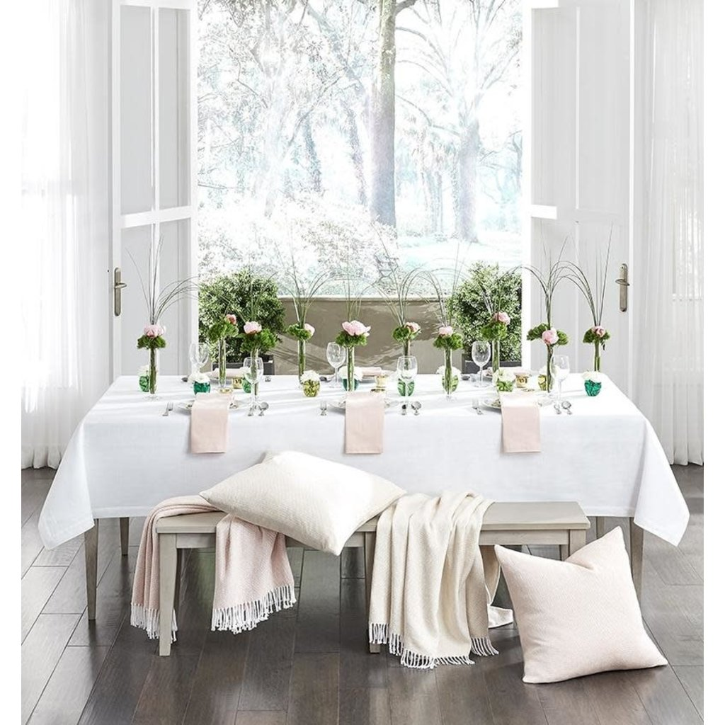 "SFERRA Cartlin - Oblong Tablecloth 70""X108"""