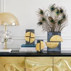 JONATHAN ADLER Osaka Vase Large Gold Luster