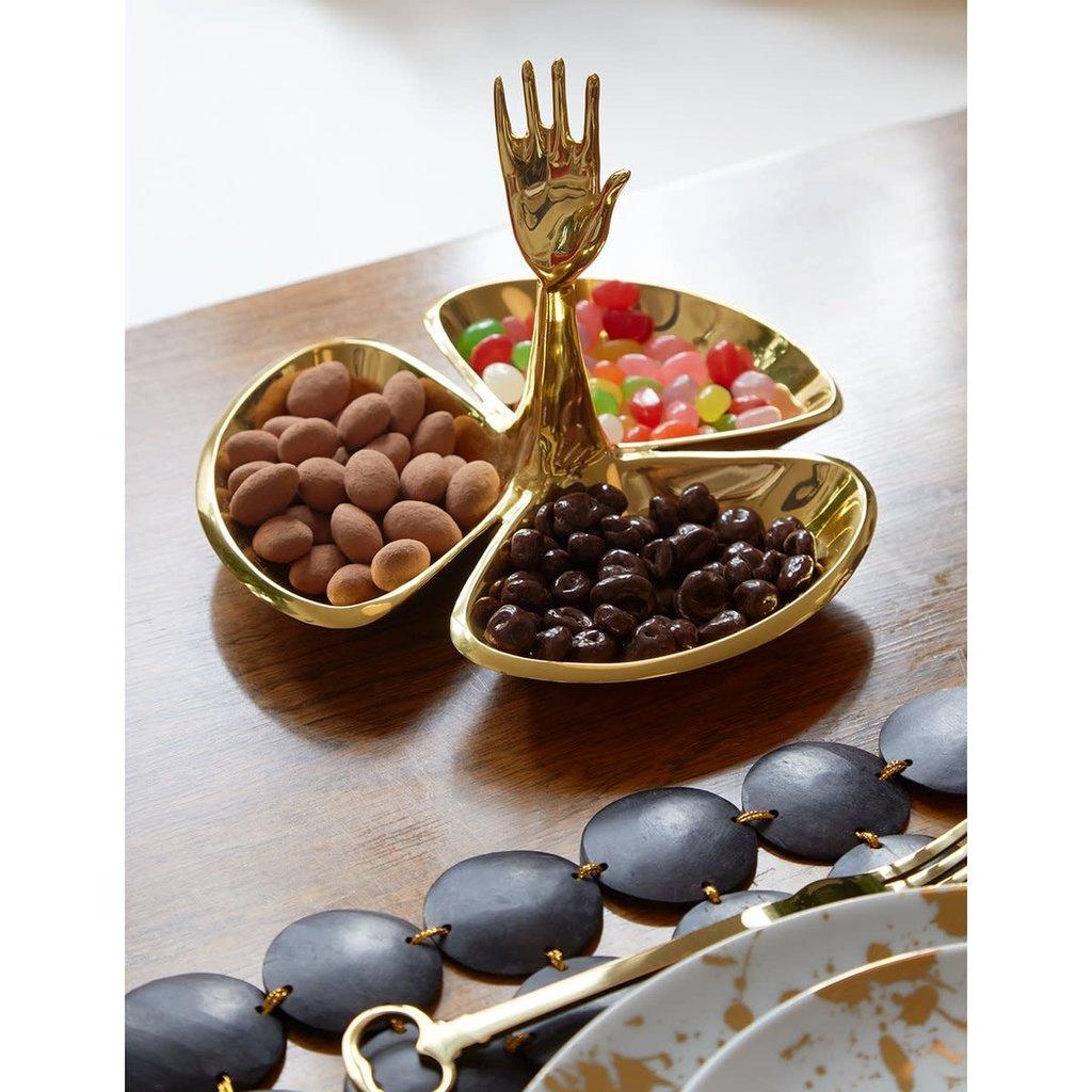 JONATHAN ADLER Brass Eve Bon Dish