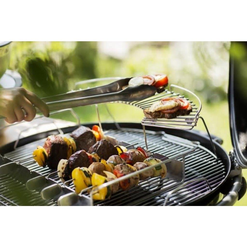 "ROSLE Barbecue Locking Tongs 18.3"""
