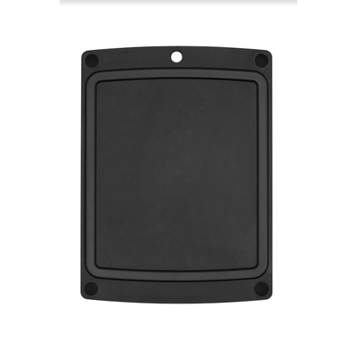 """EPICUREAN All-In-One Boards Slate/Black Feet 17.5"""" x 13"""""""