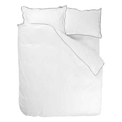 Astor Charcoal & Dove King Pillowcase 90X50Cm -36X20