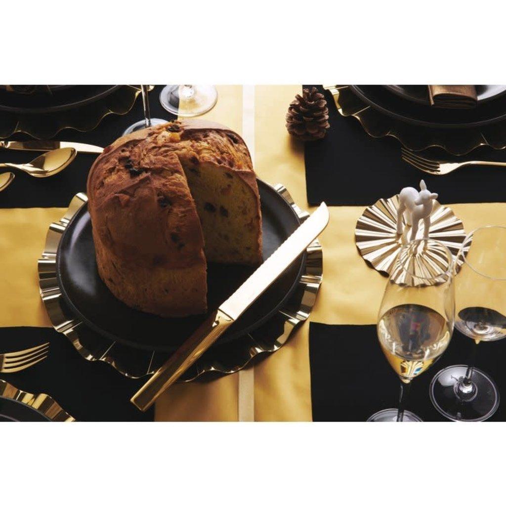 SAMBONET Panettone/Cake Knife 18/10 Stainless Steel Pvd Gold