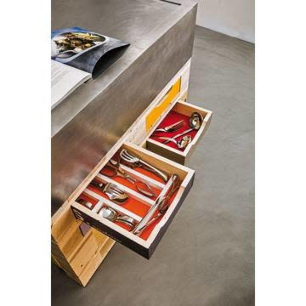 SAMBONET Living Perforated Cuillère à Servir 18/10 Acier Inox