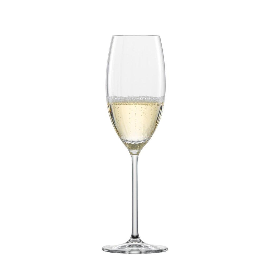 SCHOTT ZWIESEL Tritan Prizma Flûte à Champagne (77) 9.7oz Ensemble of 6
