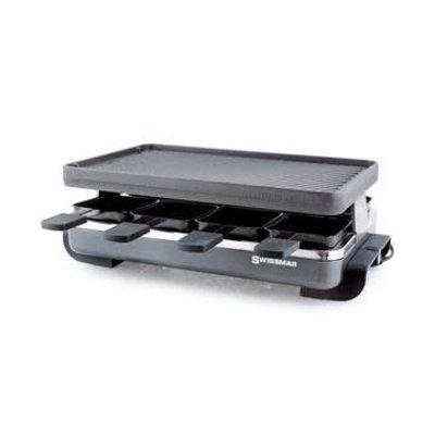 SWISSMAR Classique 8-Person Raclette W/Reversible Cast Iron Grill Assiette - Anthracite