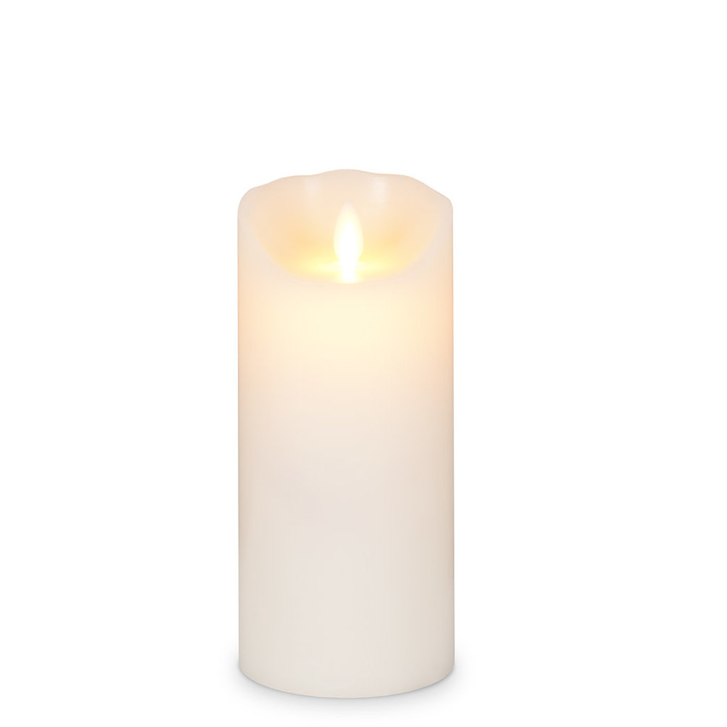 """ABBOTT Md 3X7"""" Ivory Flameless Candle"""