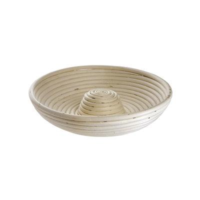 Round Basket With Riser