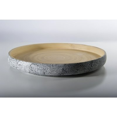"""BIBOL Bamboo Platter - """"Khay"""" Tray Medium/Eggshell"""