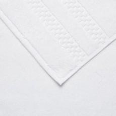 FRETTE Checkerboard Serviette de Bain Blanc Single 27 x 54''