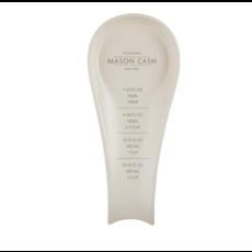 PORT-STYLE Mason Cash Innovative Spoon Rest with Measure Stoneware 10 x 4 x 1''