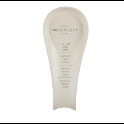 PORT-STYLE Mason Cash Repose-Cuillère Innovant avec Mesure en Grès 10 x 4 x 1 po