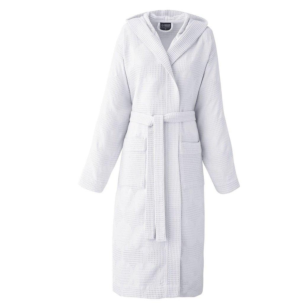 LE JACQUARD FRANCAIS Hera Robe de Chambre XL Blanc
