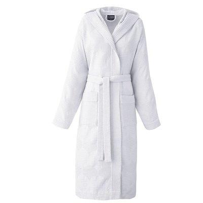 LE JACQUARD FRANCAIS Hera Robe de Chambre Petit Blanc