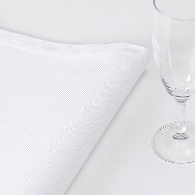 LE JACQUARD FRANCAIS Offre Blanc Serviette 22'' X 22 Natte