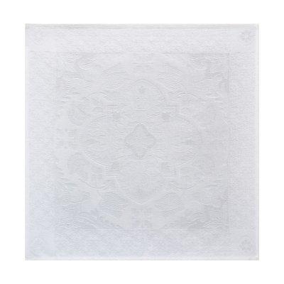 LE JACQUARD FRANCAIS Azulejos Napkin White