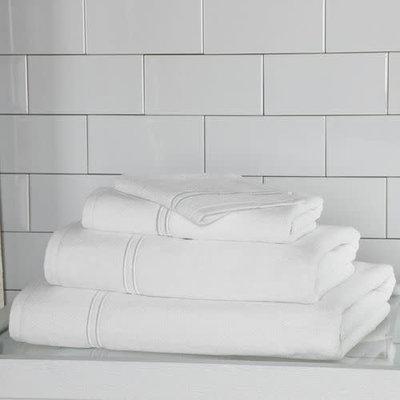 FRETTE Hotel Classic Bath Sheet White 40X70
