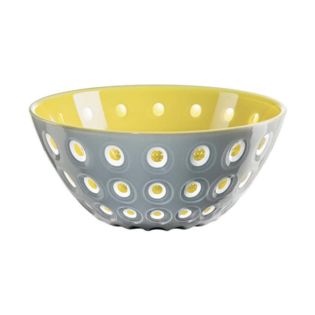"GUZZINI Bowl 25 ""Le Murrine"" Grey/White/Yellow"