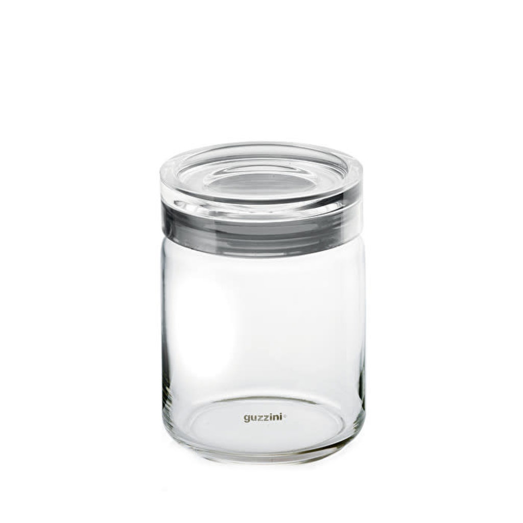 GUZZINI Storage Jar L Grey